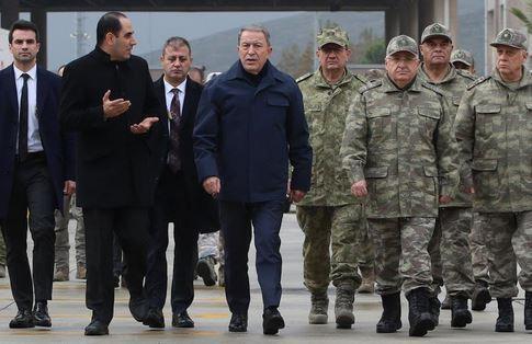 اعلام آمادگی ارتش ترکیه برای دفاع از منافع داخلی و خارجی لیبی