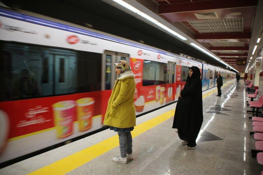 کاهش یک سومی ورود مسافر به مترو پس از شیوع کرونا