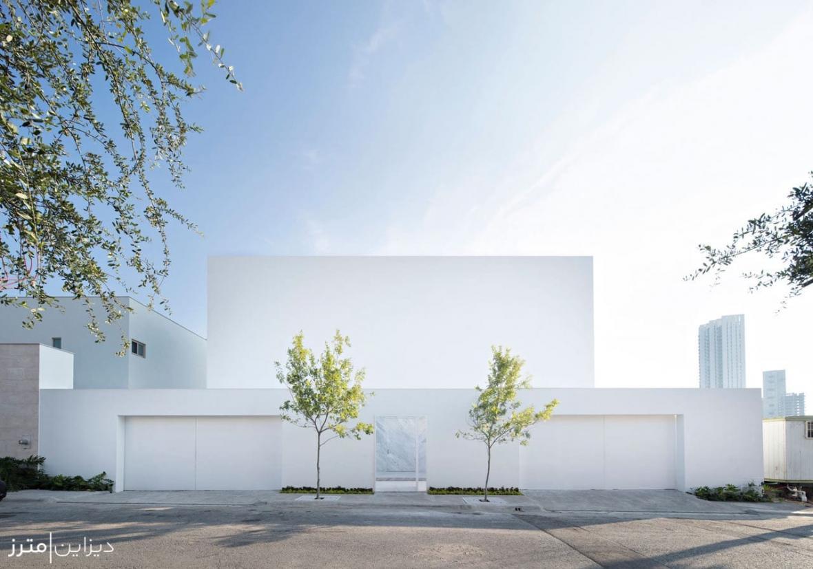 معماری مینیمال یک خانه مسکونی در مکزیک