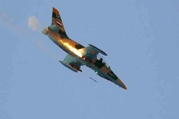 بمباران سنگین مواضع تروریستها در حومه حلب از سوی جنگنده های سوری