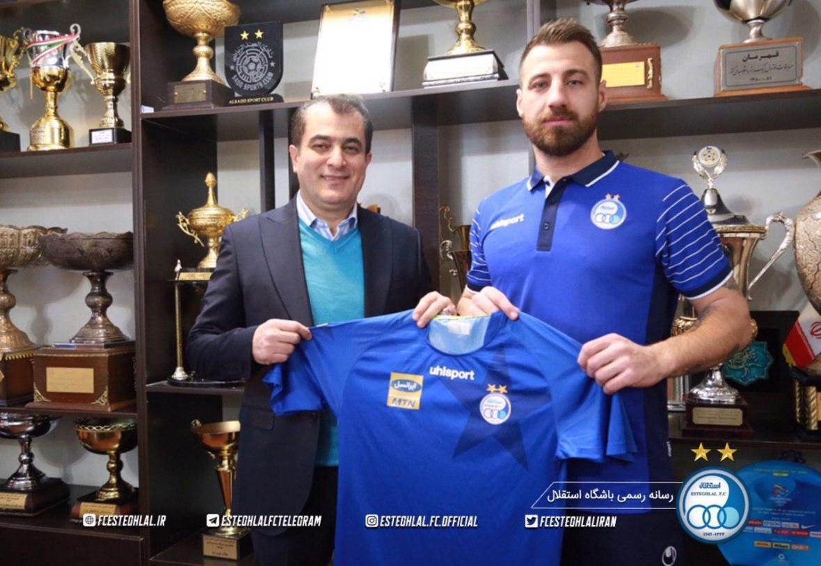 بازتاب حضور بودوروف و استوکس در استقلال و پرسپولیس در AFC