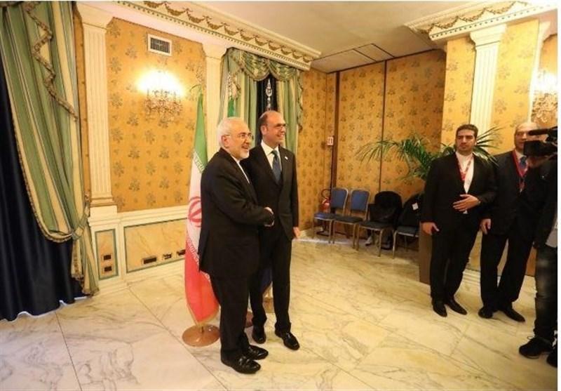 وزرای امور خارجه ایران و ایتالیا ملاقات کردند