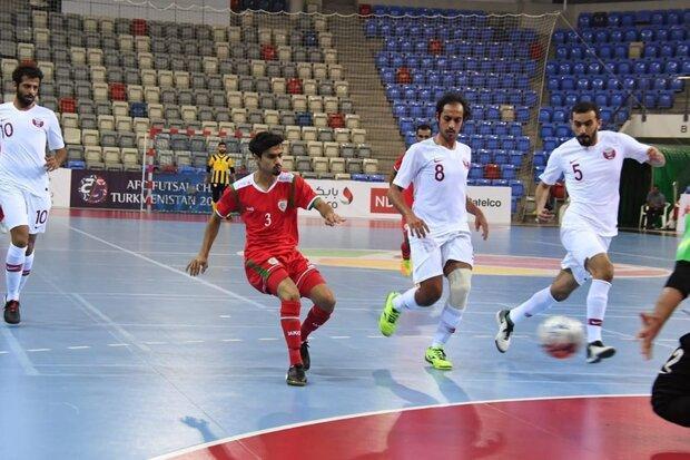 پیگیری تمرین تیم ملی فوتسال عمان باوجود گسترش ویروس کرونا