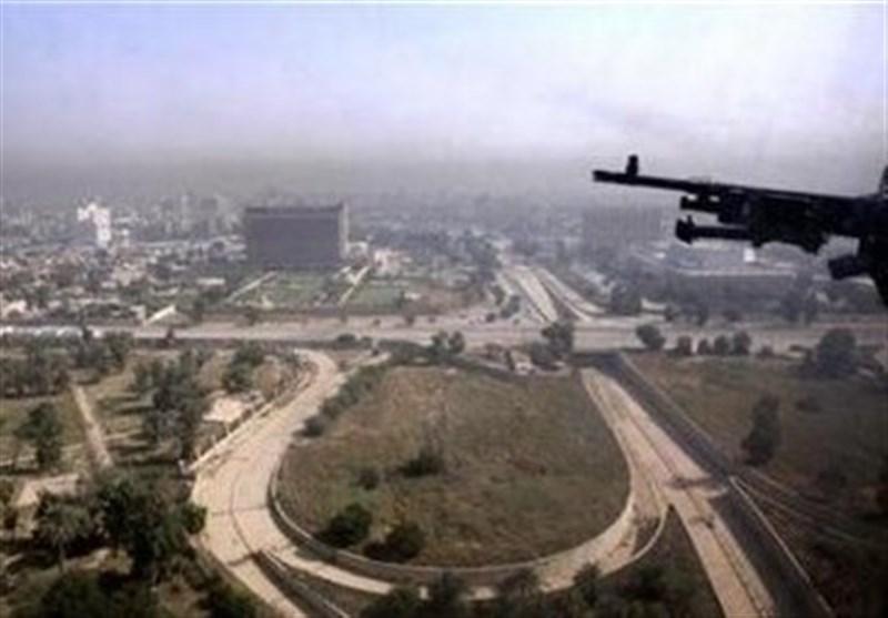 حمله موشکی به منطقه سبز بغداد، اصابت راکت به نزدیکی سفارت آمریکا