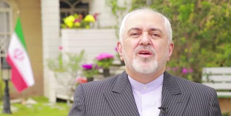 ظریف: ایران برمی خیزد و دوباره قفل زندان تحریم را می شکند