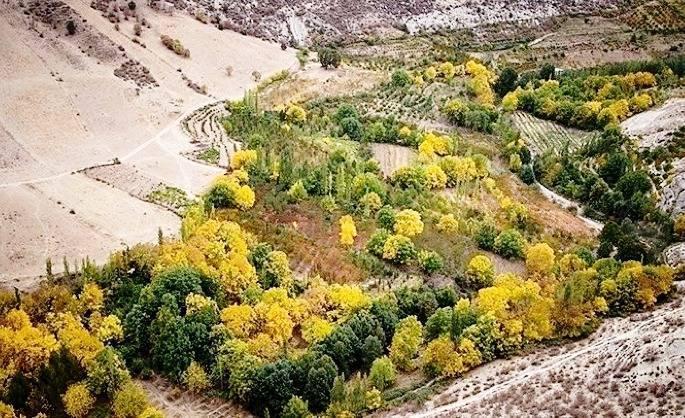طبیعت گردی در روستای توریستی درکش