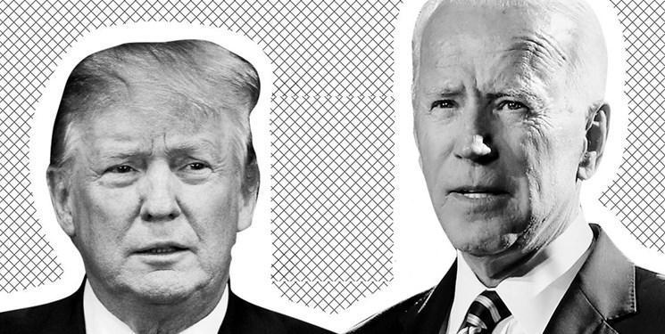 نظرسنجی انتخابات آمریکا، پیشتازی ترامپ از بایدن در ایالت های خاکستری
