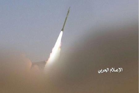 شلیک موشک بالستیک به مقر منطقه سوم نظامی ائتلاف سعودی در مأرب