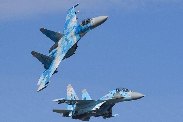 جنگنده روسیه هواپیمای ایتالیائی را رهگیری کرد