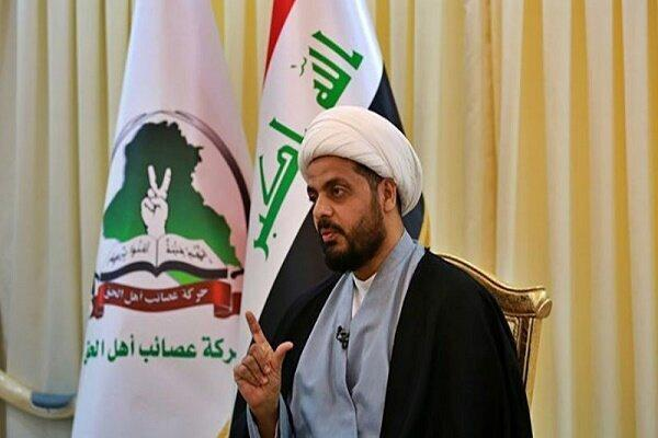 واکنش دبیر کل جنبش عصائب اهل الحق عراق به ترور هشام الهاشمی
