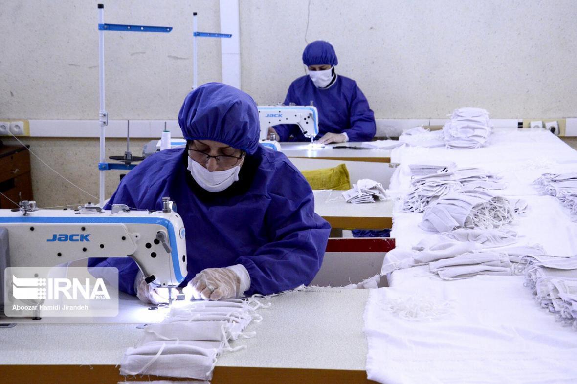خبرنگاران تولید روزانه بیش از 11 میلیون ماسک در کشور