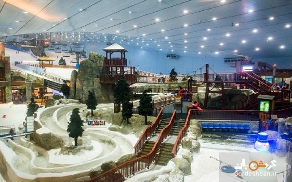 پیست اسکی؛تفریح زیبا و مفرح دبی