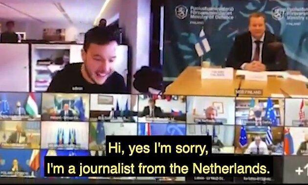 نفوذ خبرنگار هلندی به نشست محرمانه وزرای دفاع اتحادیه اروپا