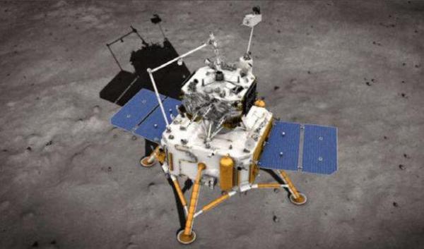 کپسول چینی حاوی نمونه ماه در راه زمین