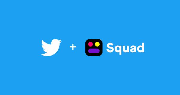 شرکت توئیتر گفت استارتاپ Squad را خریداری کرده است