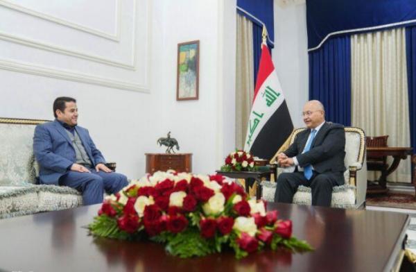 تاکید رئیس جمهوری و مشاور امنیت ملی عراق بر حفاظت از مراکز دیپلماتیک