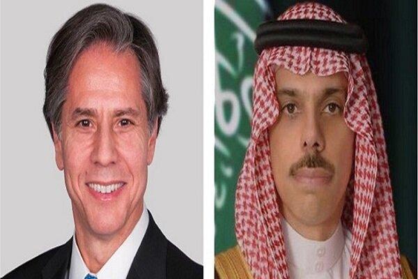 گفتگوی وزرای خارجه آمریکا و عربستان
