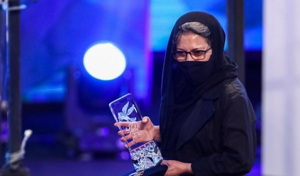 ویدئو، سیمرغ بلورین بهترین بازیگر زن به رویا افشار رسید