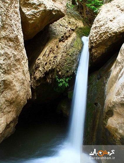 آبشار شیرز؛ منطقه ای سرسبز و دیدنی در کوهدشت، عکس