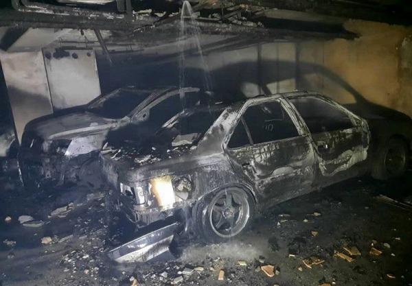 آتش سوزی شدید در ساختمان 35 واحدی در تهران