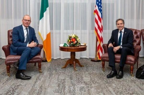 گفت وگوی وزیران خارجه آمریکا و ایرلند درباره برجام