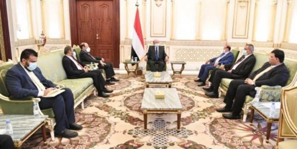 اعتراض دولت مستعفی یمن به فعالیت متحدان امارات