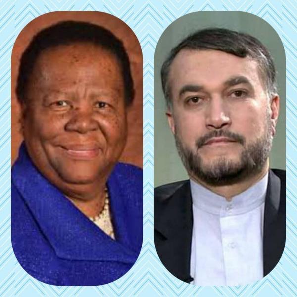 پیغام وزیر خارجه آفریقای جنوبی به امیرعبداللهیان